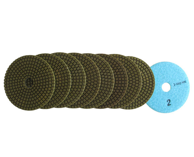 3 Step Polishing Pad for Granite