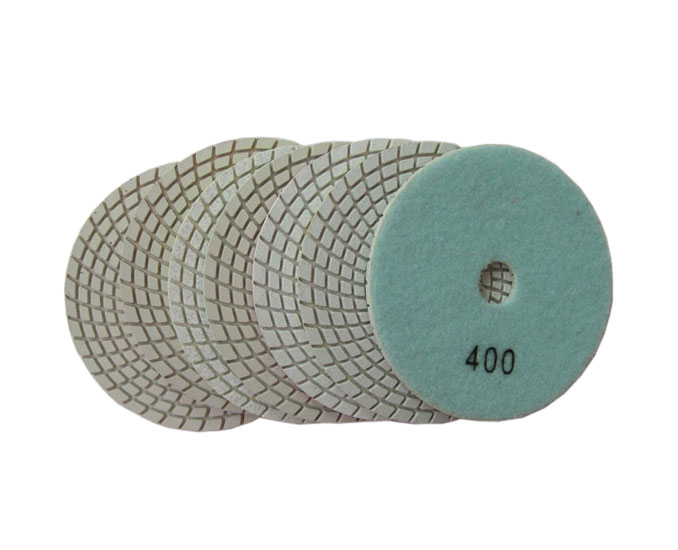 B Type Standard Quality Wet Diamond Polishing Pads for Marble