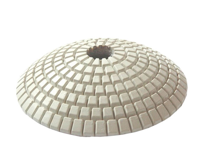 Convex Diamond Polishing Pad for Marble