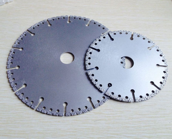 Demolition Saw Blades Vacuum Brazed Diamond Rescue Saw Blades