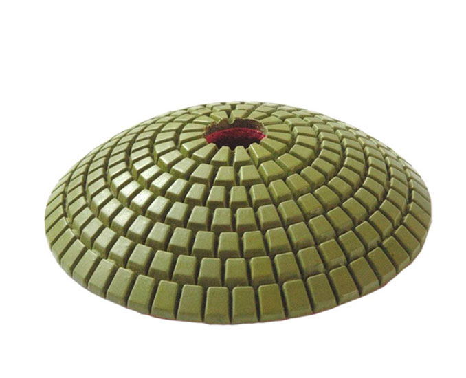 Diamond Convex Polishing Pads for granite
