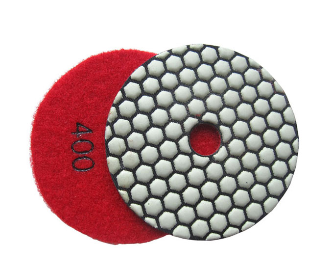 Diamond Dry Polishing Pad for Granite Marble-Hexagonal Type
