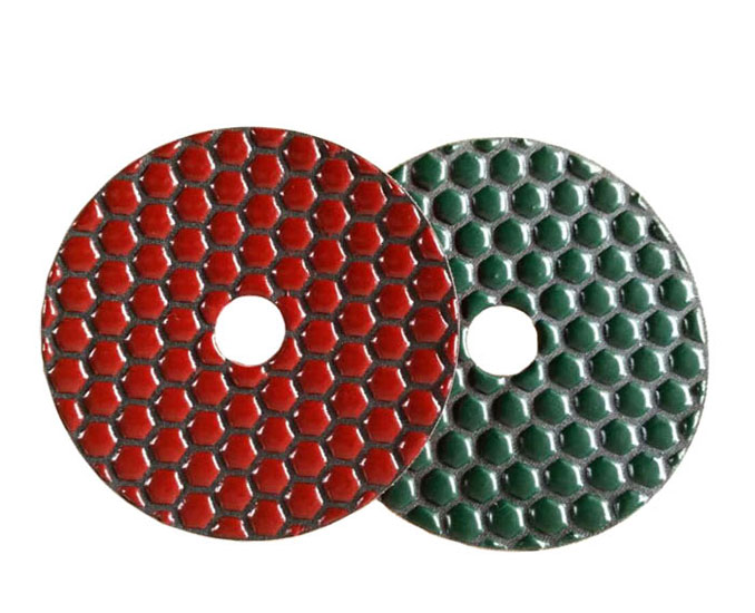Diamond Dry Polishing Pad for Stone Honeycomb Type