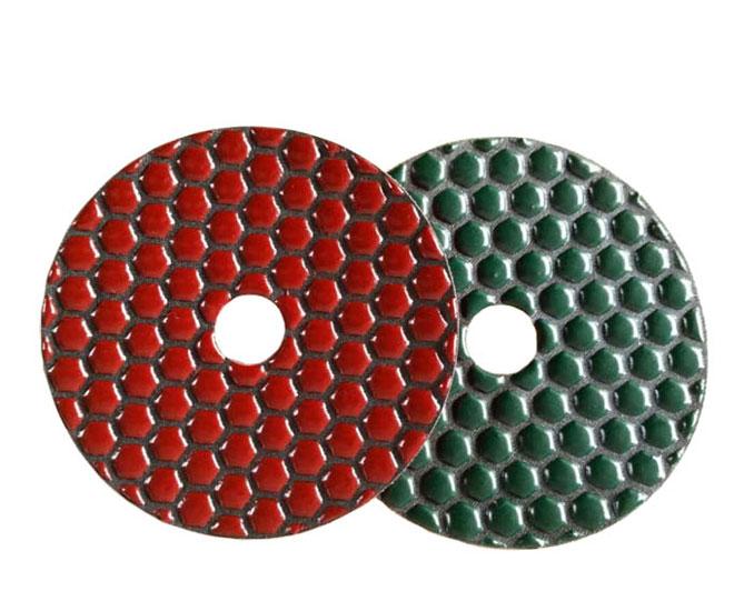 Diamond Dry Polishing Pad for Stone Honeycomb Type