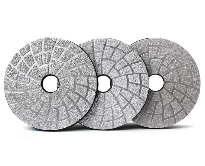 Diamond Vacuum Brazed Flexible Polishing Pad