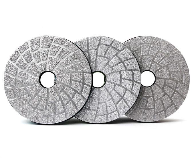 Diamond Vacuum Brazed Flexible Polishing Pad