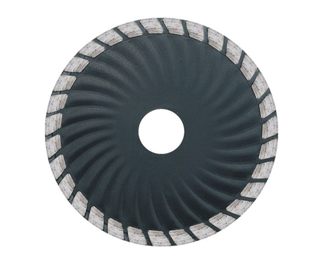 Sintered Waved Turbo Diamond Saw Blade for granite marble
