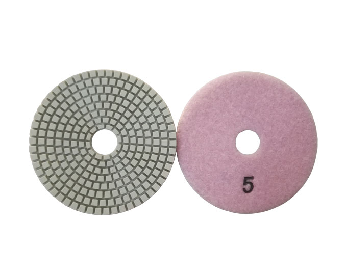 5 Step Diamond Polishing Pads for Granite Marble