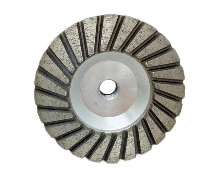 Aluminum Core Turbo Stone Diamond Cup Wheels