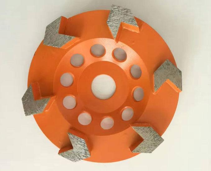 Arrow Segmented Diamond Cup Wheel