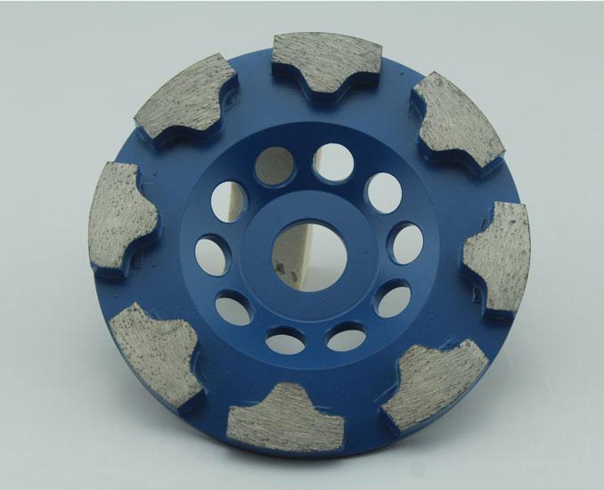 T Shape Diamond Stone Grinding Wheels