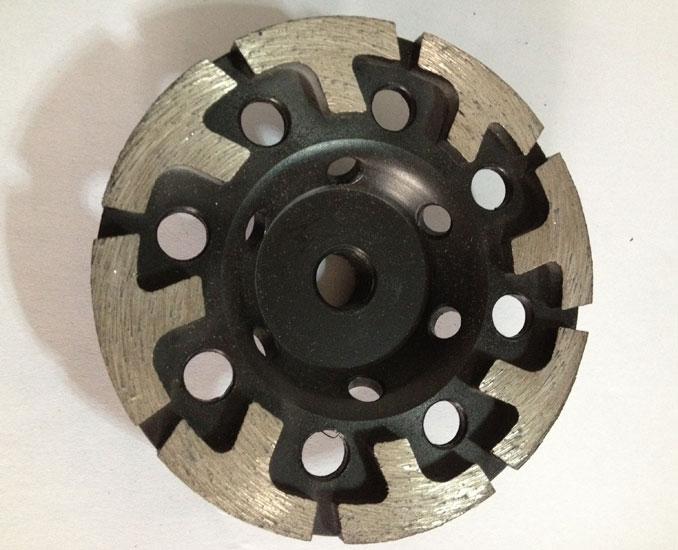 T Welded diamond grinding wheels Welded Diamond Grinding Wheels