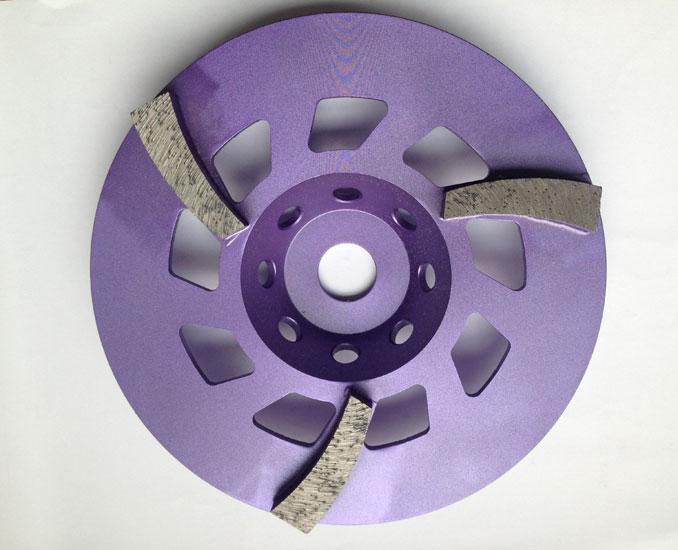 diamond cup grinding weheels for concrete floor