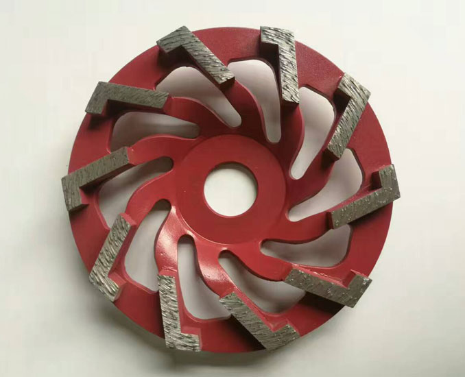 diamond grinding wheel for concrete weld