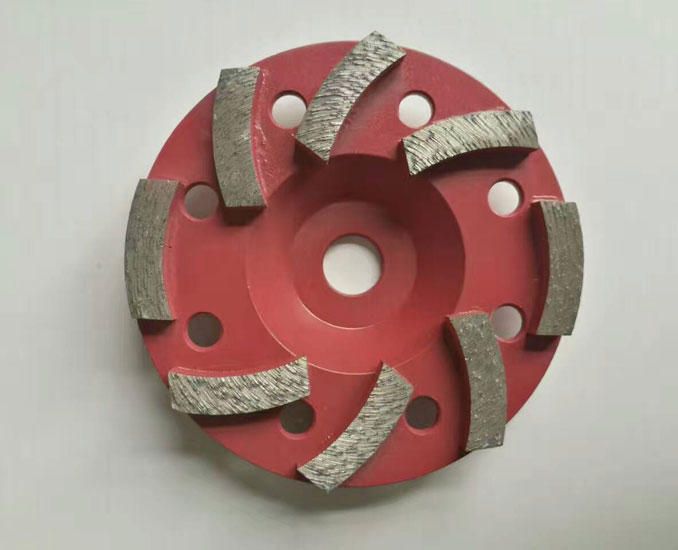 weld diamond concrete grinding wheels