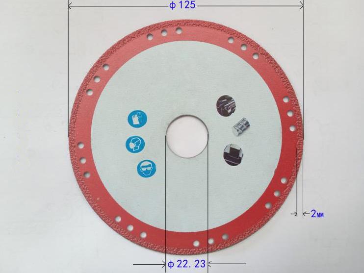 diamond cut off wheels for metal vacuum brazed diamond blades