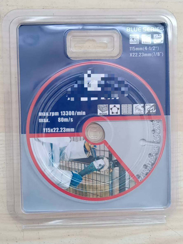 diamond saw blade for metal vacuum brazed diamond cutting disc