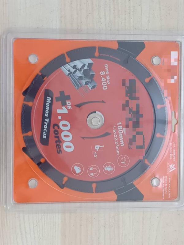 vacuum brazed diamond cutting disc for metal wood